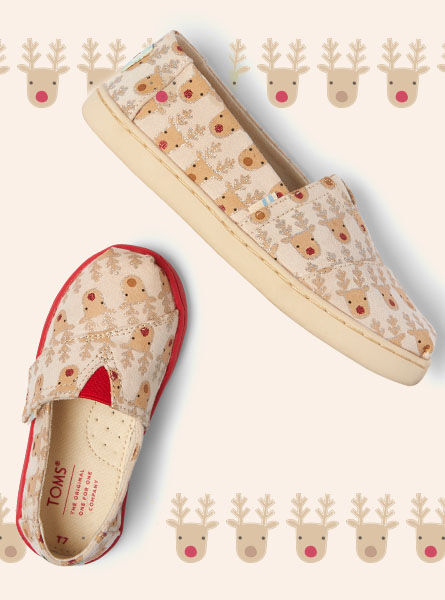 Shoes featured: Kid's Reindeer Alpargatas