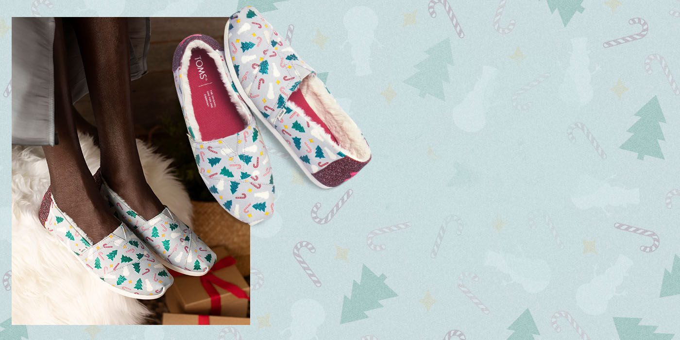 Shoes featured: Women's Glitter Christmas Exclusive Alpargatas