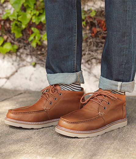 Shoes featured: Men's Dark Toffee Chukka Boots