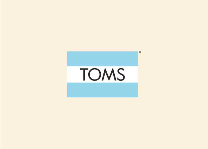 TOMS flag logo