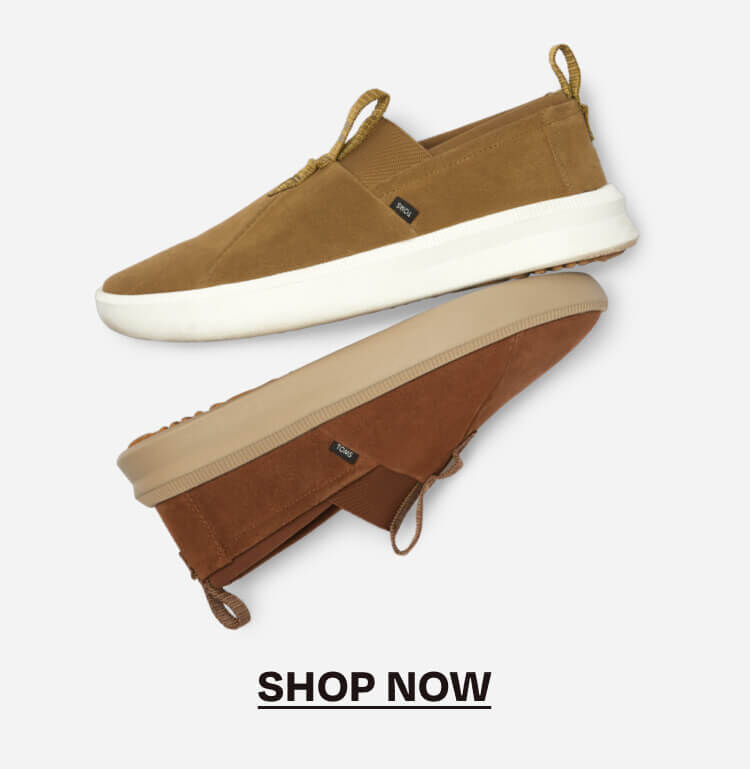 The Men's Alpargata Rover Water Resistant style in dirty olive and nutmeg color ways shown. Shop now.