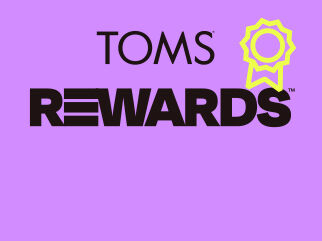 TOMS Rewards trademark logo.