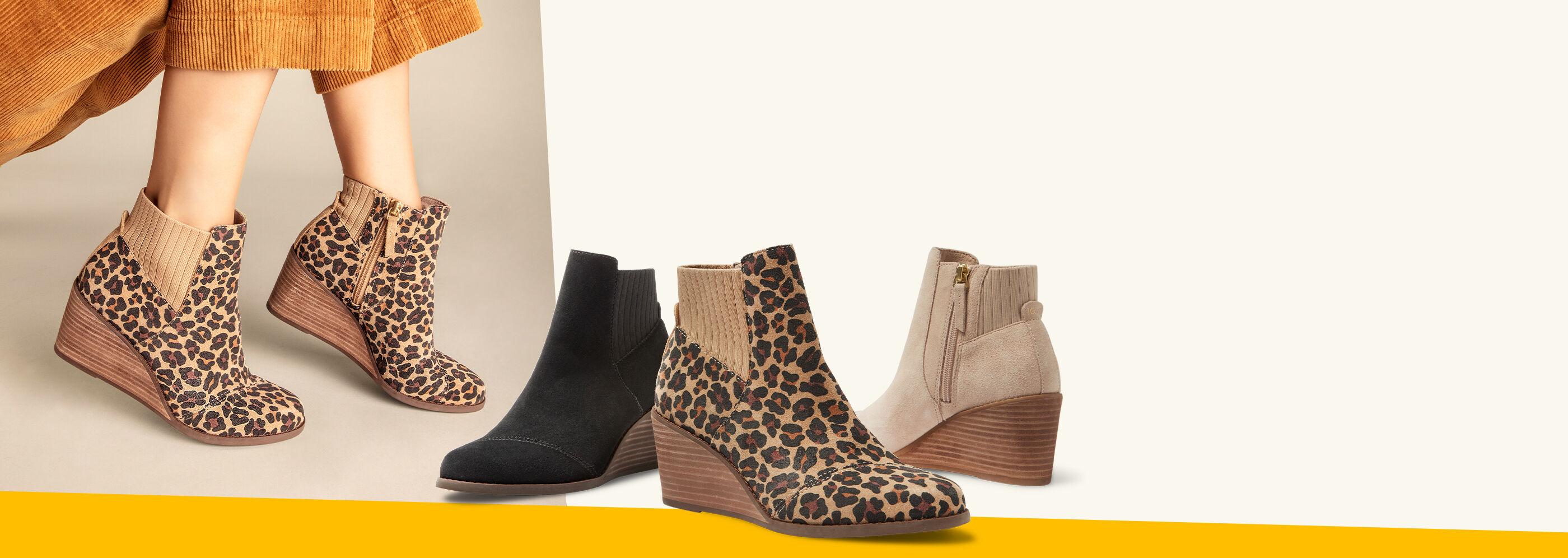 Women's Sadie Boot in various colors shown.