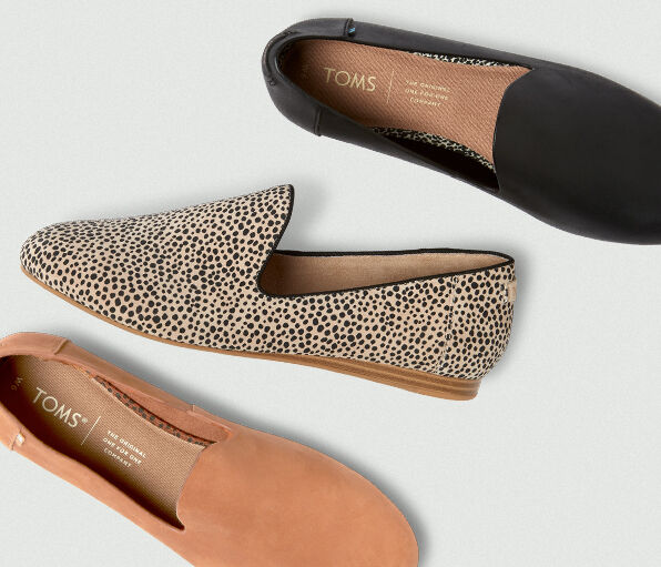 Women's Darcy Flats in varying colorways and patterns