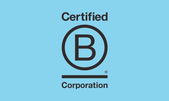 Certified B Corporation logo.