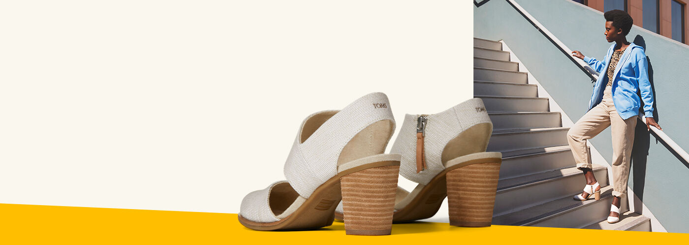 Shoes Featured: Women's White Majorca Heels