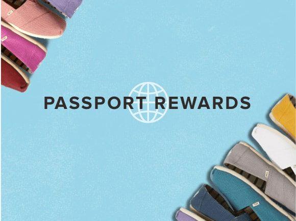 Classic Alpargatas shown in various colorways. Passport Rewards.