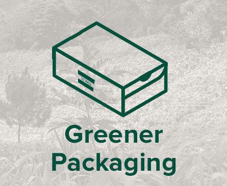 greener packaging logo