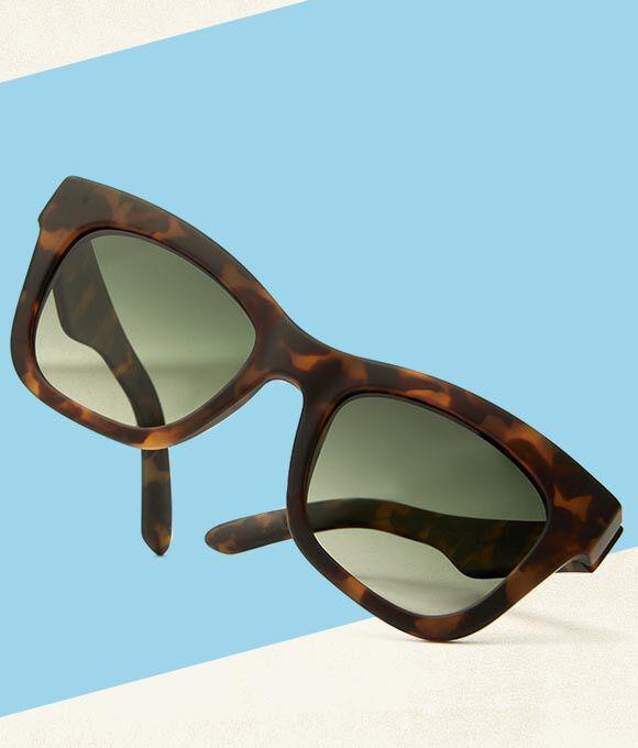 the TOMS Traveler Florentin sunglasses in Matte Tortoise