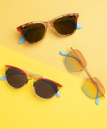 3 styles of TOMS Unity Collection Sunglasses