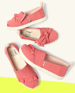 Shoes Featured: Kid's Pink Ruffled Shoes