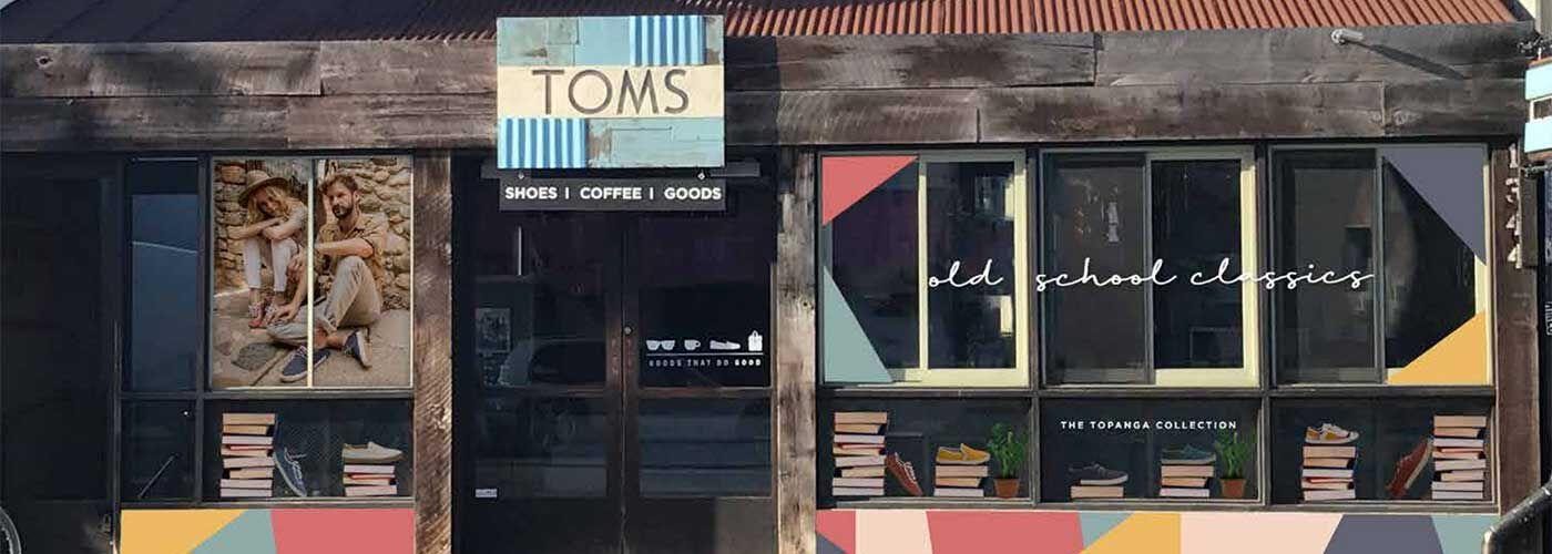 TOMS Storefront on Abbot Kinney