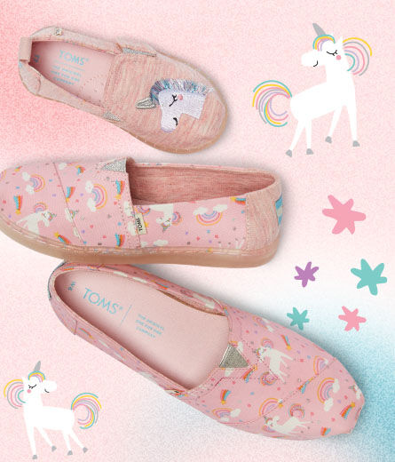 Women's, Youth, and Tiny Unicorn exclusive alpargatas
