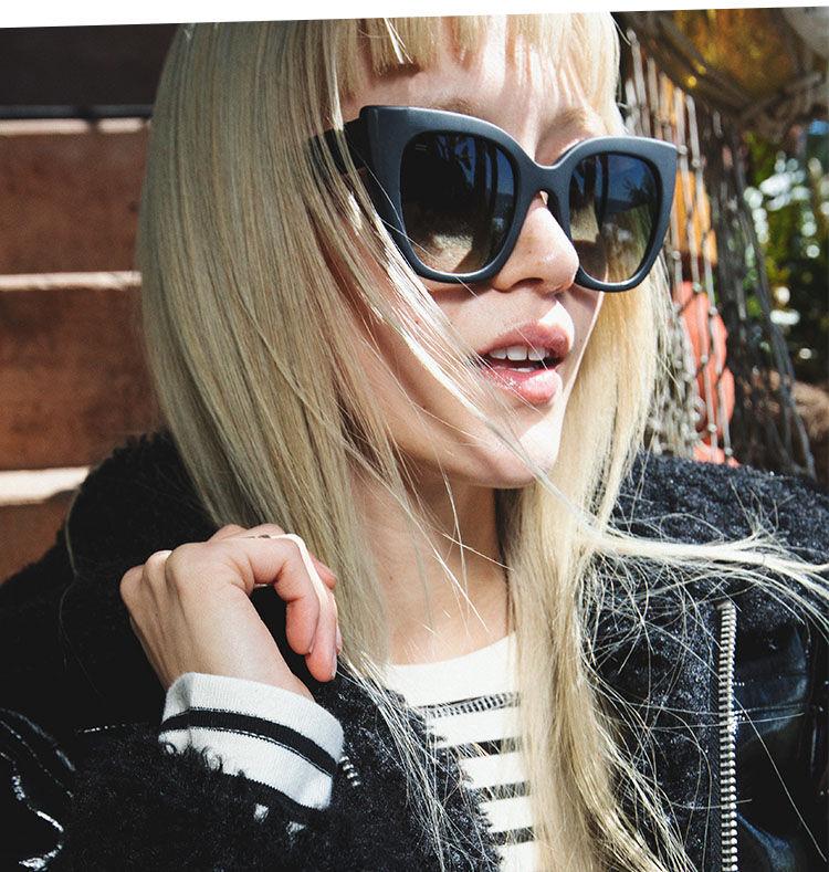Sydney sunglasses shown.