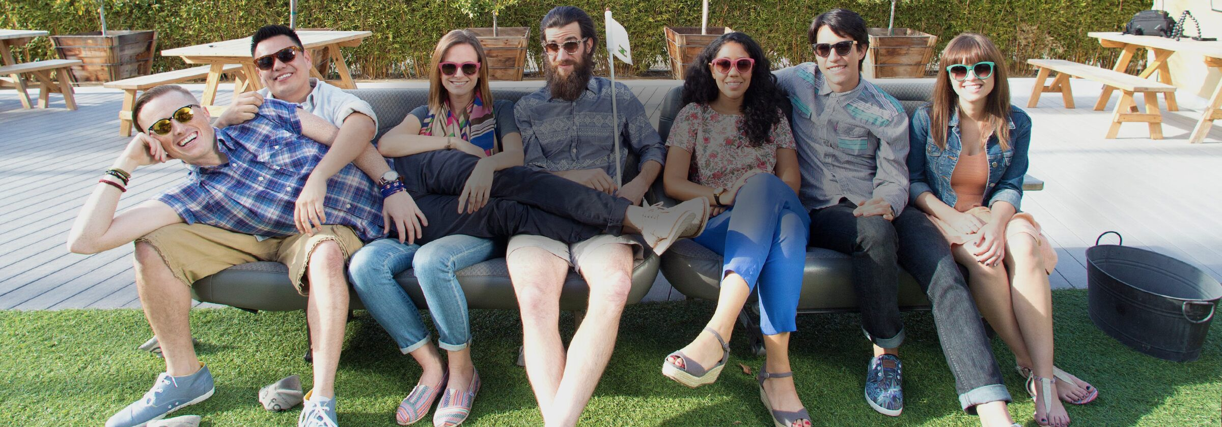 Interns at TOMS Headquarters