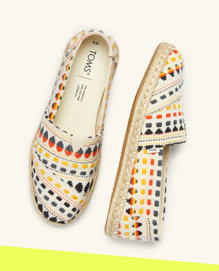 Shoes Featured: Women's Global Woven Espadrille Alpargata