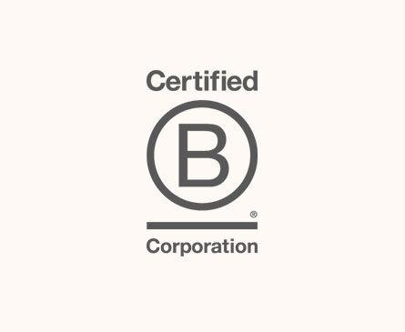 Certified B Corp logo.