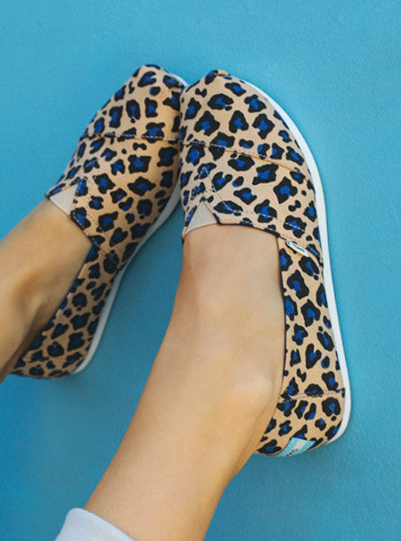Women's Painted Leopard Alpargatas
