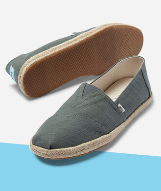 Men's green espadrille Alpargatas.