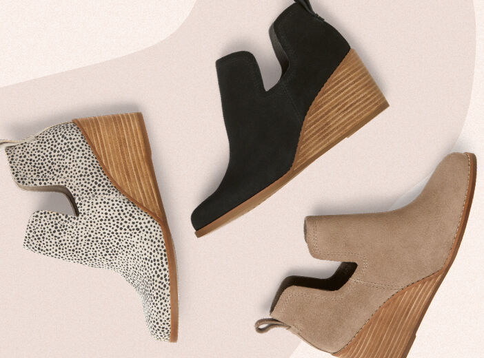 Shoes featured: Women's Kallie Boots in varying colors