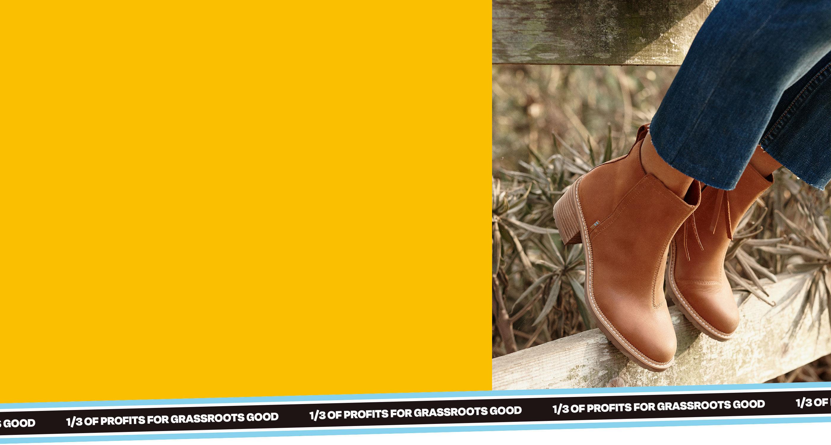 Women's Marina Boot in tan shown.