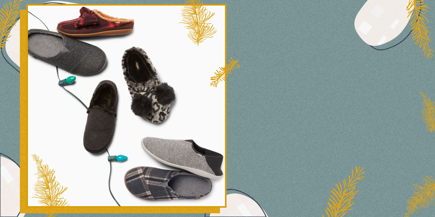 Men's and Women's varying slippers