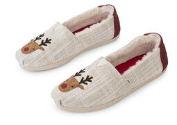 Reindeer Embroidered CloudBound™ Alpargata