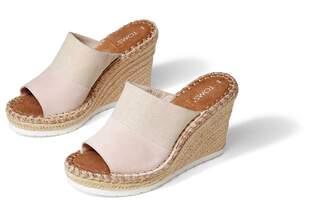 Monica Mule Wedge Heel