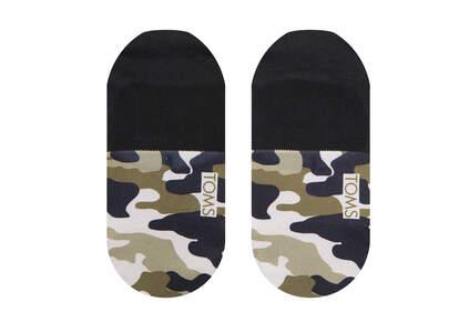 Ultimate No Show Socks Camo