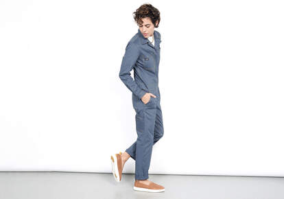 TOMS x WILDFANG Blue Coverall
