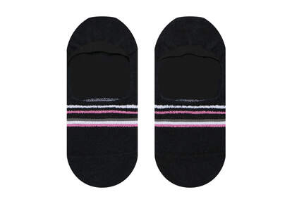 Ultimate No Show Socks Stripes