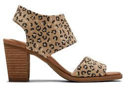 Natural Cheetah Majorca Sandal