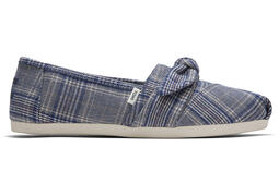 Citadel Blue Plaid CloudBound™ Alpargata