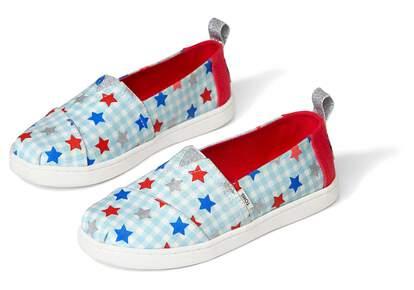Youth Alpargata Glitter Star