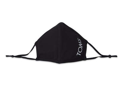 Double Layered Face Mask Black