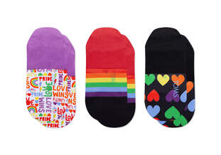 Ultimate No Show Socks Unity 3 Pack