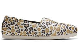 Natural Glitter Cheetah CloudBound™ Alpargata