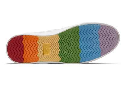 Baja Unity Rainbow Slip On