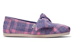 Pink Plaid Bow Cloudbound™ Alpargata