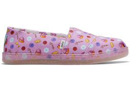 TOMS X Candy Land Sweets Youth Alpargata