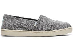 Youth Heathered Grey Alpargata