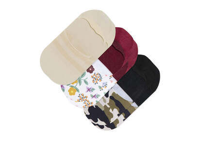 Ultimate No Show Socks 3 Pack