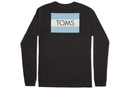 TOMS Logo Long Sleeve Tee