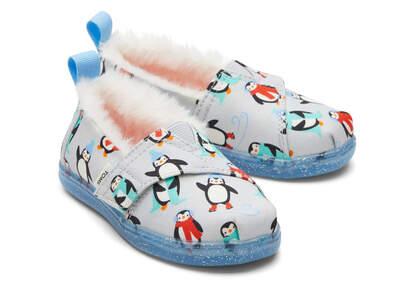 Tiny Alpargata Winter Penguins