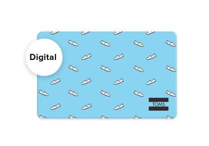 TOMS Digital Gift Card