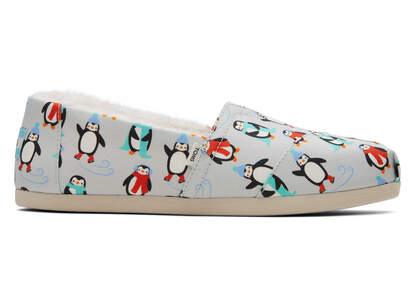 Alpargata Winter Penguins
