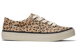 Leopard Canvas Alex Sneaker