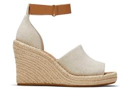 Natural Marisol Wedge Heel Sandal