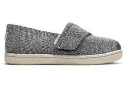 Tiny Heathered Grey Alpargata