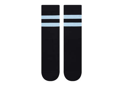 Light Cushioned Crew Socks Black